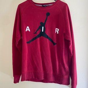 Air Jordan- Sweatshirt Red